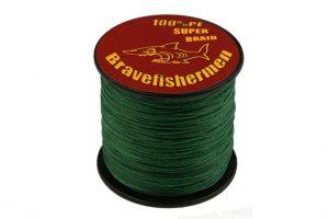 Bravefishermen Super Strong PE Braided Fishing Line Review